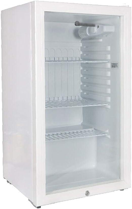 refrigerador Transparente con candado Pantalla de Muestra de ...