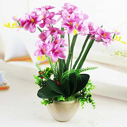 12X Foam Calla Artificial Flower Bouquet DIY Scrapbook Decorative Wreath Well FG