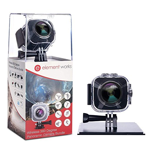 Element Works USA 360 Camera with V3 chipset, Silver