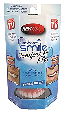 Instant Smile Comfort Flex  NEW! One Size Fits All Veneers  Fix Your Smile  At Home Within Minutes! Get That Smile That You Have Always Wanted