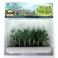 Woods Edge Trees Pastel Green 5.1cm - 6.4cm N-scale 20/pk