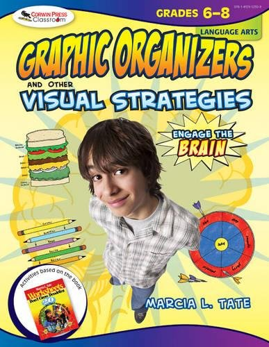 Engage the Brain: Graphic Organizers and Other Visual Strategies, Language Arts, Grades 68
