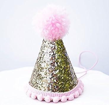 Amazon.com: Mini con purpurina, color dorado pálido Cake ...
