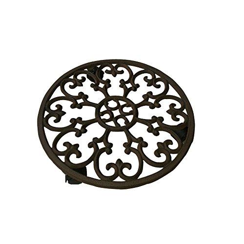 cast iron flower pot holder - 7