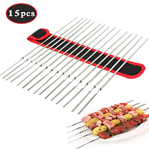 KUMOOM Barbecue Skewers, 14