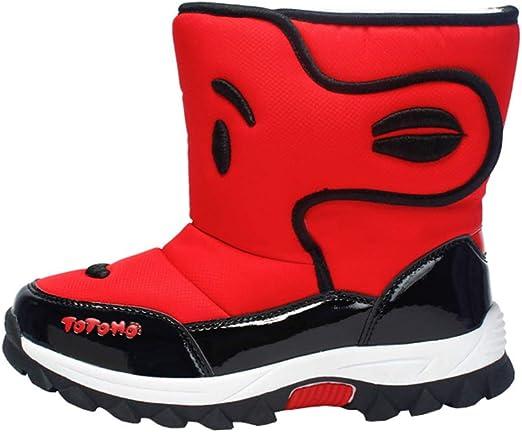 Shoes Botas de Seguridad para niños a Prueba de Nieve al Aire ...