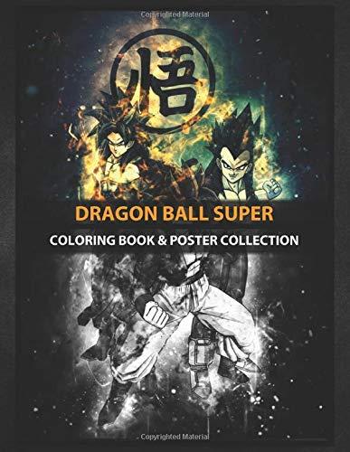 Coloring Book & Poster Collection: Dragon Ball Super Gogeta Super ...