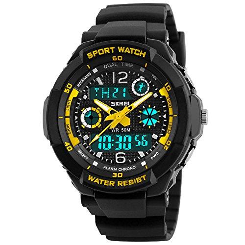 Takyae Children Multifunctional Waterproof Wristwatches