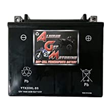 AGM Brand Or Similar Replacement For YTX20HL-BS Snowmobile Battery for BRP SKI-DOO Expedition Legend Skandic 800CC 09YTX20HL-BS Snowmobile Battery for BRP SKI-DOO Expedition Legend Skandic 800CC 09 -By Saskbattery