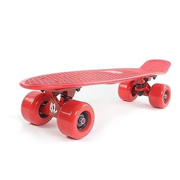 SKATEBOARD Completo Mini Cruiser Penny 22 Pulgadas con Sturdy Old School Deck Y 4 Ruedas De