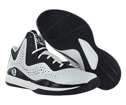 Adidas Rose 773Chaussures de Basketball pour Homme III - multicouleur - Blanc/noir, 39 1/3