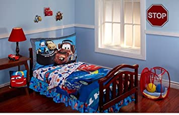 Disney Cars Max Rev 10 Piece Toddler Bedding Set