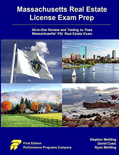 Pdf Law Massachusetts Real Estate License Exam Prep: All-in-One Testing and Testing to Pass Massachusetts' PSI Real Estate Exam