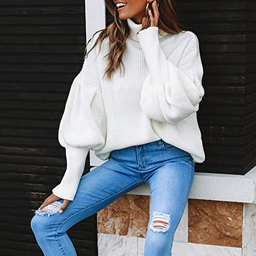 Donna in Solida Maniche Maniche delle Piebo della Camicetta Lunghe Maglia Donne Cinghia Lunghe Bianco da Fasciatura a Maglietta a 6YqPzTYw