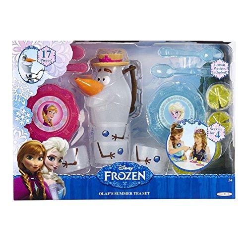 Disney Frozen 17 Piece Olafs Summer Tea Set-Brand New! Model:
