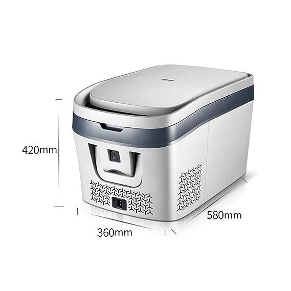 Refrigerador del automóvil Mini refrigerador Auto del hogar la ...
