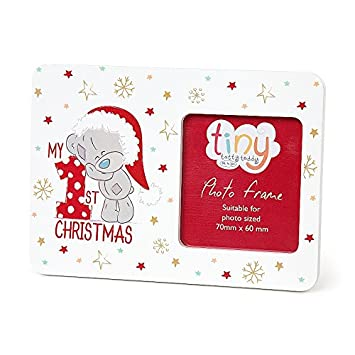 Me To You Tiny Tatty Teddy Baby\'s First Christmas Photo Frame ...