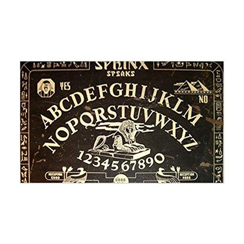 CafePress - Vintage Sphinx Ouija Board Sticker (Rectangle) - Rectangle Bumper Sticker Car Decal (Eerie Vintage Halloween Photos)