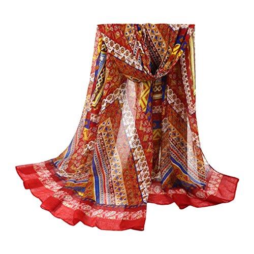 TOPSTORE01 Écharpe Longue Modèle Tribal Foulard Châle Femme Poncho (Rose)   Amazon.fr  Vêtements et accessoires a2b6a8c68c6