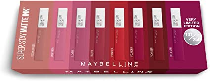 Maybelline New York Cofre Edición Limitada 8 Pintalabios SuperStay ...