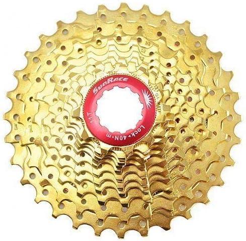 ST1686 Gold SunRace CSRZ1 11 Speed Road Bike Cassette 11-32T