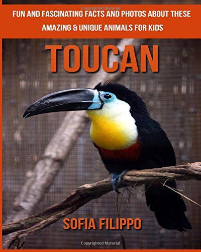 Download Toucan: Fun and Fascinating Facts and Photos about These Amazing & Unique Animals for Kids PDF
