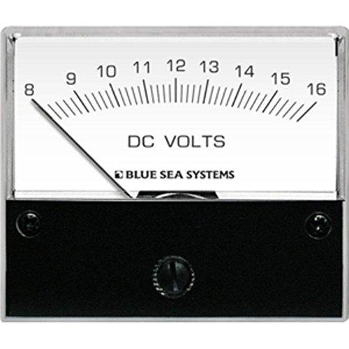 Blue Sea 8003 DC Analog Voltmeter - 2-3/4 Face, 8-16 Volts DC consumer electronics (Blue Sea 8003 Voltmeter)