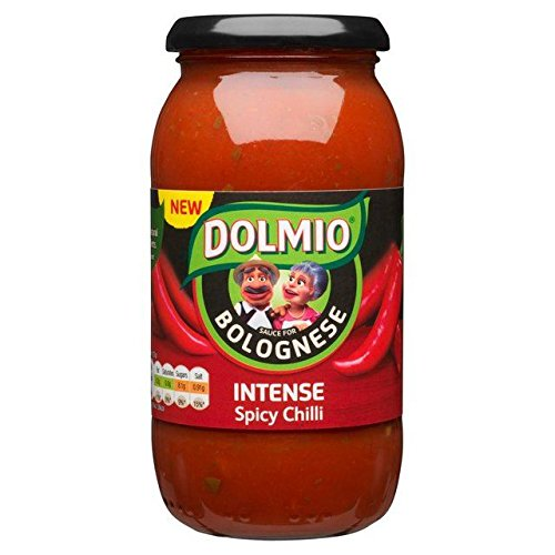 Dolmio Bolognese Spicy Chilli Pasta Sauce - 500g
