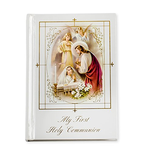 First Communion Missal Hardcover with Girl, (Jewel Heart Box Wedding Favors)