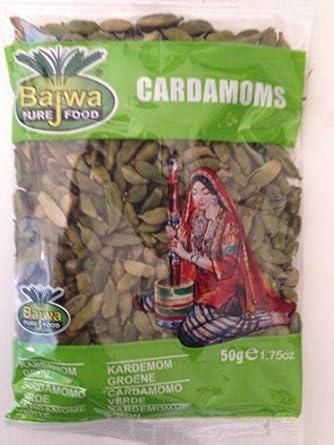 Bajwa Cardamoms indian Cardamom 50 Grams Packaging: Amazon co uk