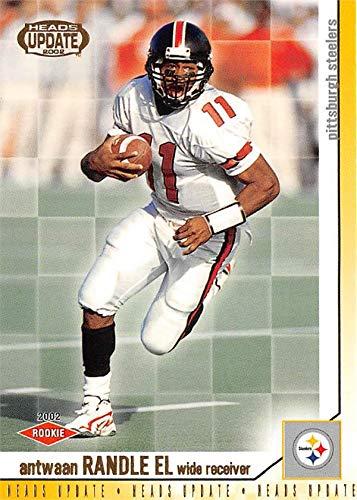- Antwaan Randle El football card (Indiana Hoosiers) 2002 Pacific Heads Update Rookie #135