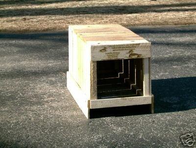 Mallard house. mallard Nesting Box. house for mallards.2 UNITS by Holley