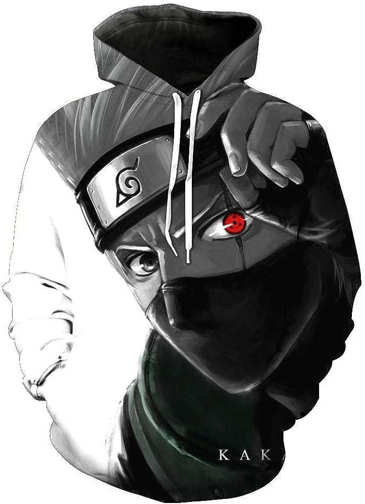 Capa cómica tirón Naruto Sasuke Kakashi Perder Digital 3D ...