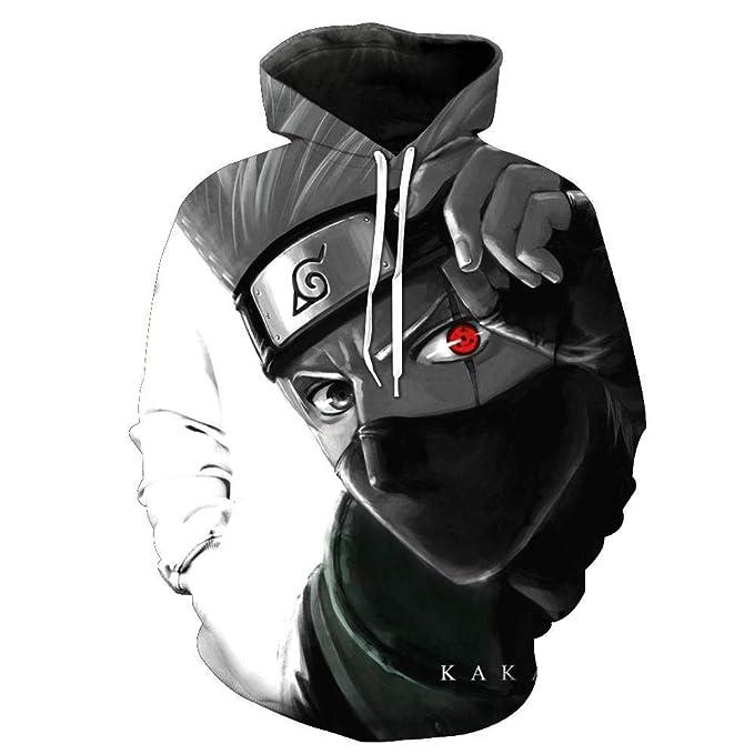 Sudadera con Capucha Unisex Naruto, Impresión 3D, Otaku, Juego de Roles, Manga, Diseño de Anime: Amazon.es: Ropa y accesorios