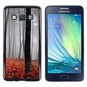 """For Samsung Galaxy A3 , S-type Naturaleza Hermosa Forrest Verde 189"""" - Arte & diseño plástico duro Fundas Cover Cubre Hard Case Cover"""