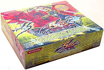 Amazoncom YuGiOh 5Ds Crossroads of Chaos ENGLISH Booster Box