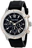 Nautica Men's N17654G Analog Display Quartz Black Watch