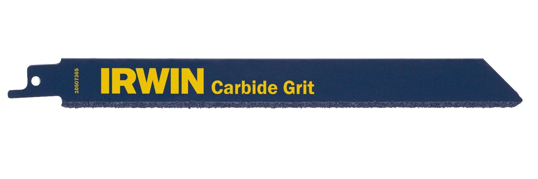 Irwin Sabre Saw Blade 800RG Carbide Grit 200mm Pack of 2