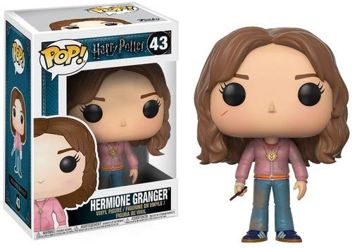Funko Pop Movies Harry Potter-Hermione with Time Turner Toy ()