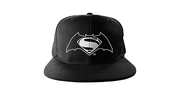 Amazon.com: Batman Vs Superman Baseball Cap Snapback Cap Logo Official Black: Clothing