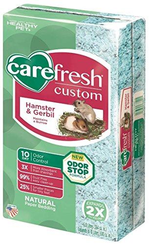 Carefresh Custom Hamster & Gerbil Bedding – Blue – 10 lt