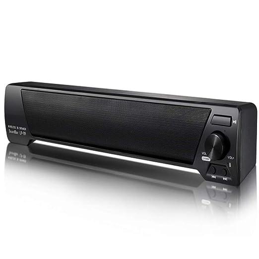 WHCCL Barra de Sonido, Altavoz portátil Bluetooth TV Altavoces ...