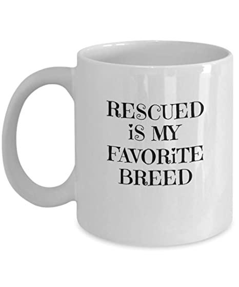 Amazon.com: Adopt Don\'t Shop – Rescued Is My Favorite Breed ...