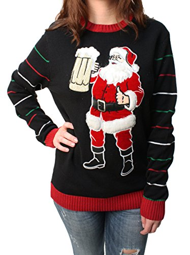 Beer Drinkin' Santa Sweatshirt