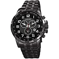 August Steiner AS8118 Men's Swiss Quartz Chronograph Date Stainless Steel Watch (Multiple Colors)
