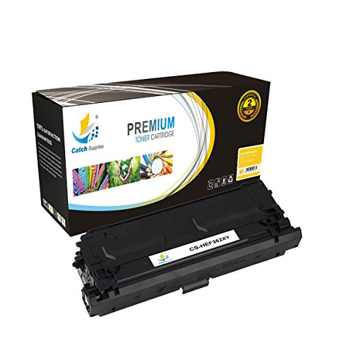 Catch Supplies 508X Yellow Premium High Yield Replacement Toner Cartridge CF362X Compatible with Color LaserJet Enterprise M552 M553n M553x, MFP M577dn M577z M577c Laser Printers |9,500 - Delivery Package Time Class First