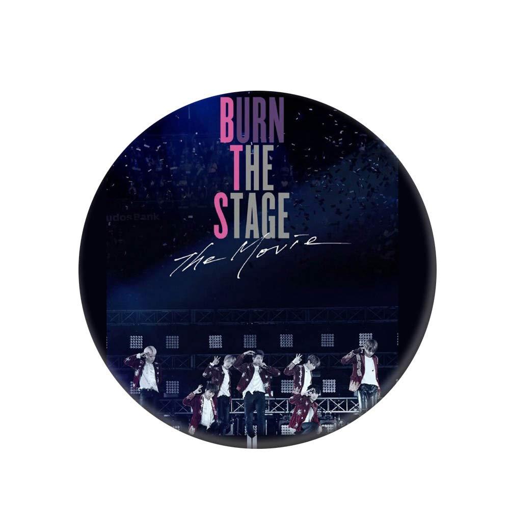 "H01-9PCS Skisneostype Kpop BTS Bangtan Boys Love Yourself 结 /""Answer Photo Buttons Badges//Pin 58mm"