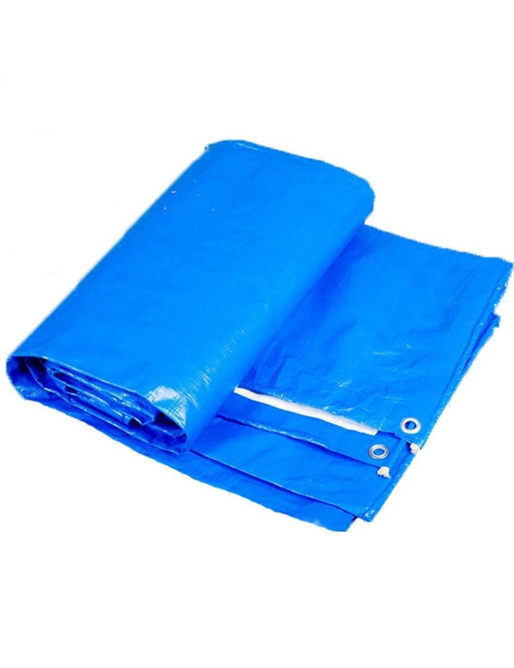Fonly Fonly Fonly Tenda da campeggio in plastica blu, telo da campeggio, copertura in tela, telo da esterno in diverse dimensioni (Dimensione   3m4m) B07H18ZSWD 3m4m | Del Nuovo Di Stile  | Queensland  | Di Modo Attraente  | Shop  da8711