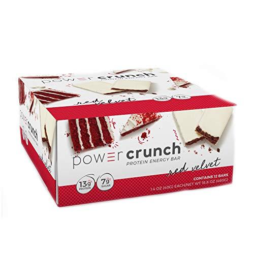 Power Crunch Protein Energy Bar, Red Velvet, 12 Count