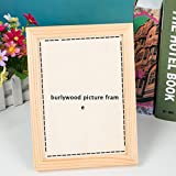ZTZ Creative Small Gift Woodcut Custom Photo Add Your Own Picture And Text To The Woodcut for Your Friend Girlfriend Boyfriend Colleague (4.86.4inch, burlywood)